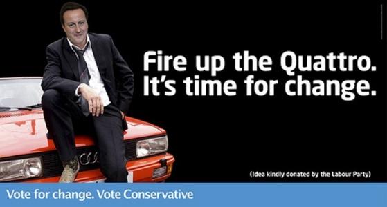 Konzervativní odpověď na labouristickou kampaň