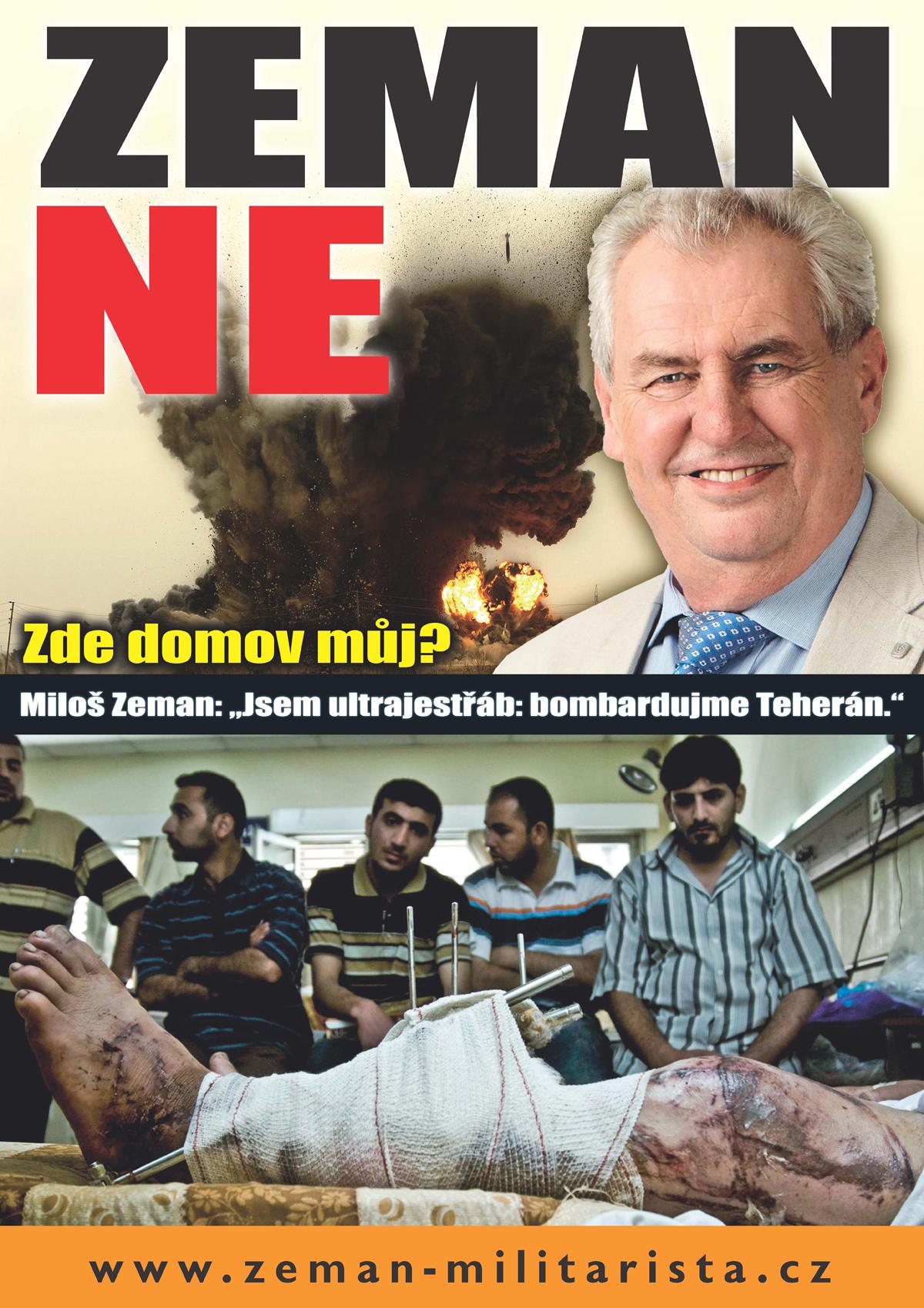 Kampaň proti Miloši Zemanovi