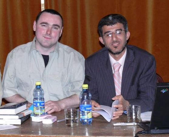 Lukáš Lhoťan s  Muneebem Hasanem Alrawim