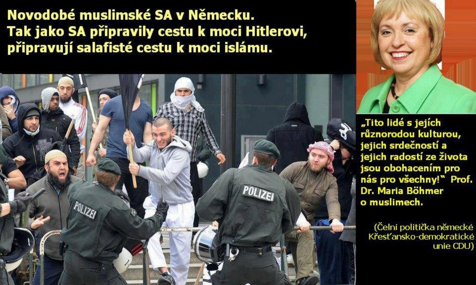 Německo a jeho obdiv k islámu