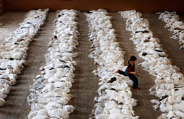 Tato fotografie totiž pochází z Al Musajjib, Iraq – květen 27, 2003.