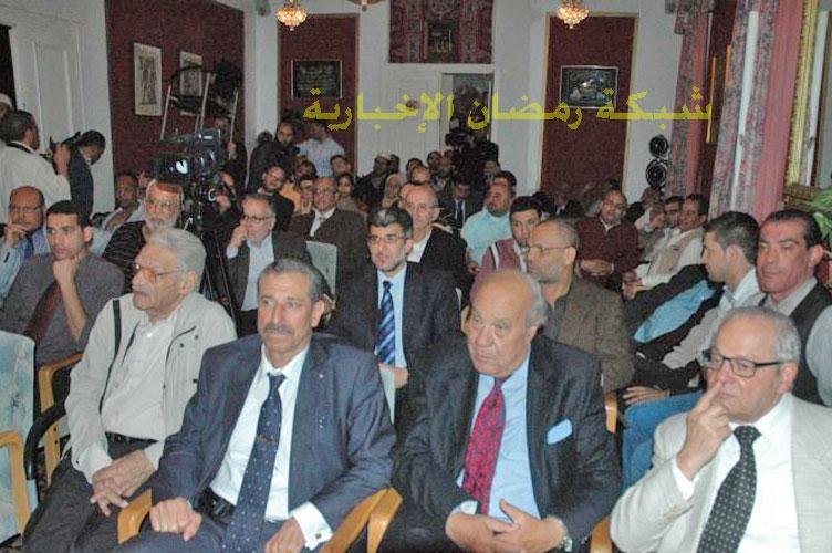 Muneeb Hassan Alrawi v publiku během veřejné části návštěvy