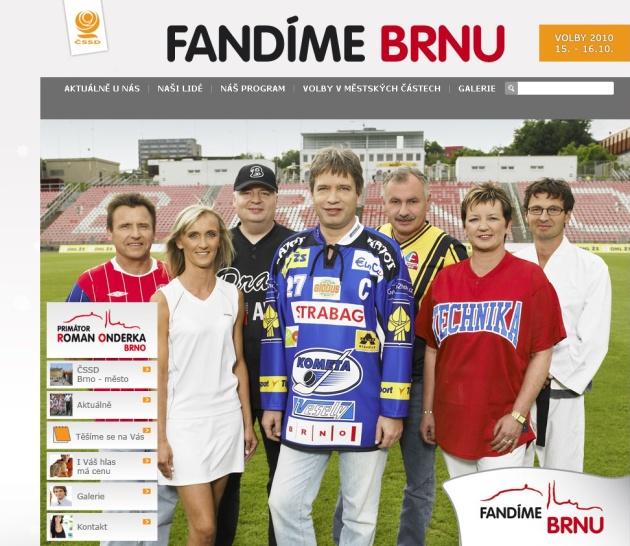 Roman Onderka, volební kampaň 2010, foto http://blog.idnes.cz/