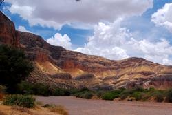 Namíbie - jak modeluje voda