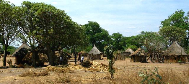 Zambijská vesnice