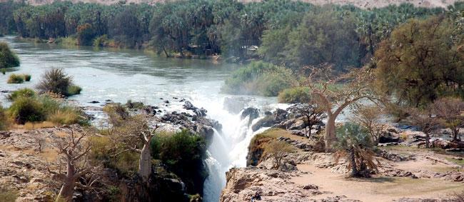 Epupa Falls - hlavní vodopád