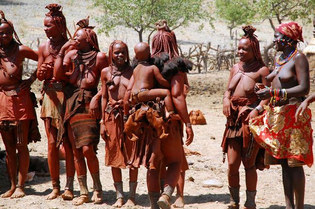 Na návštěv u Himbů