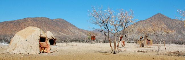 Kraal - vesnice Himbů