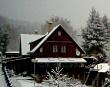 Zasněžené ráno v Jablonci nad Nisou