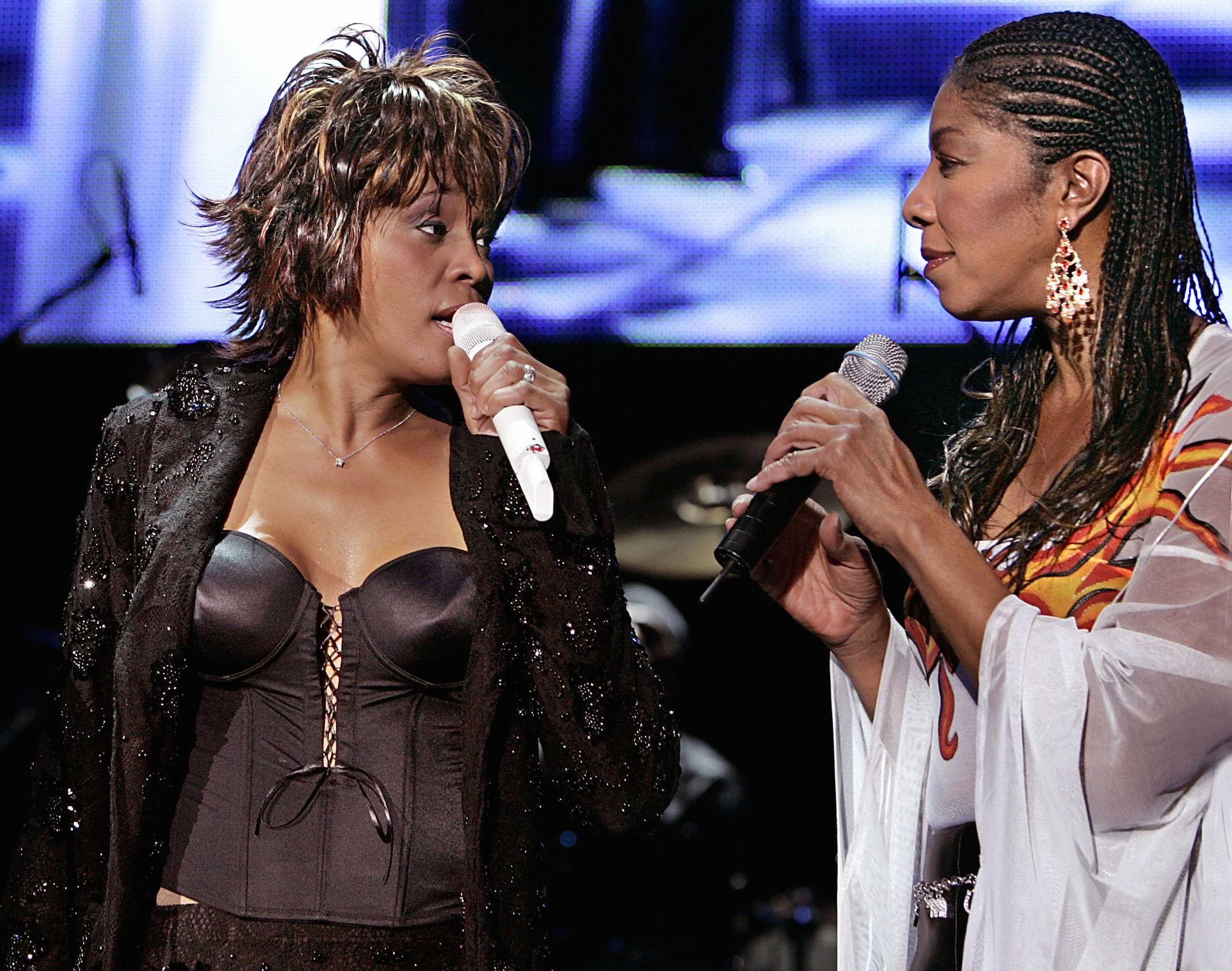 Whitney Houston a Natalie Cole
