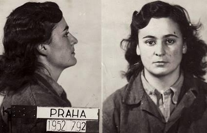 Dagmar Šimková (23 let) v době zatčení, příštích 16 let ztrávila v komunistickém vězení.