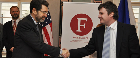 Fulbright Distinguish Chair Signing Ceremony