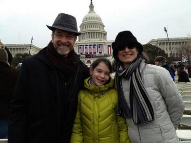 Ambassador's Family at the Inauguration