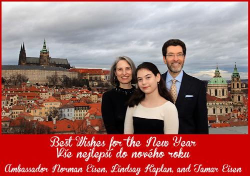 Vše nejlepší do nového roku / Best Wishes for the New Year