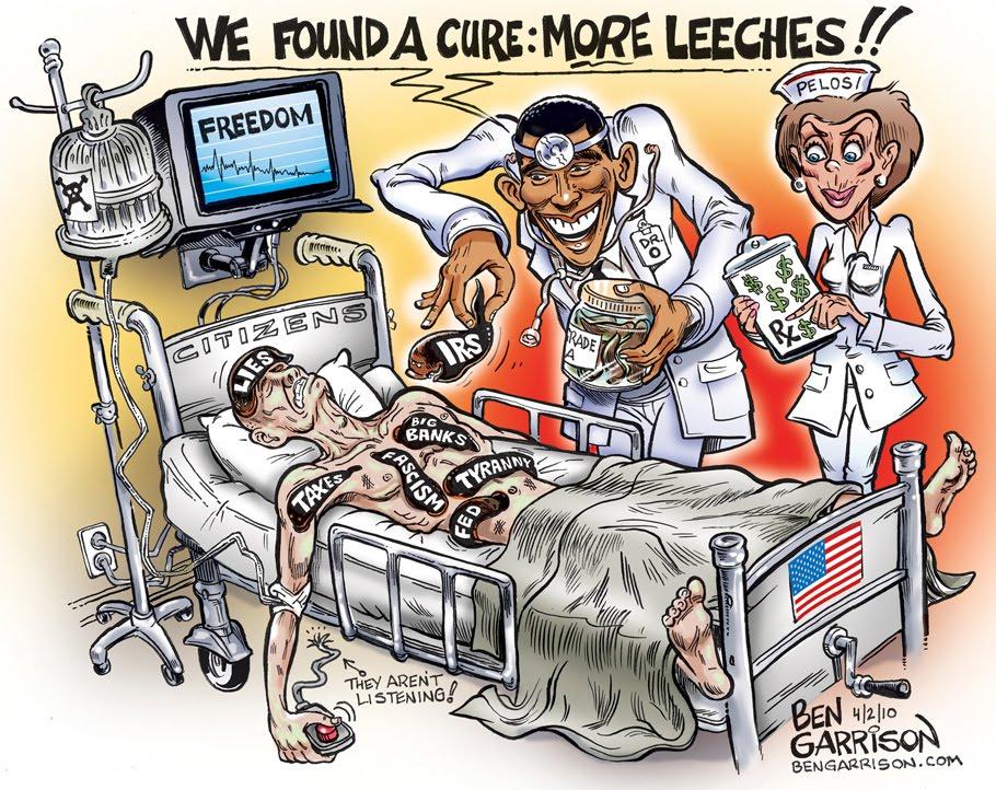 Kreslene Vtipy Bena Garrisona O Aktualni Politice V Usa Blog Idnes Cz