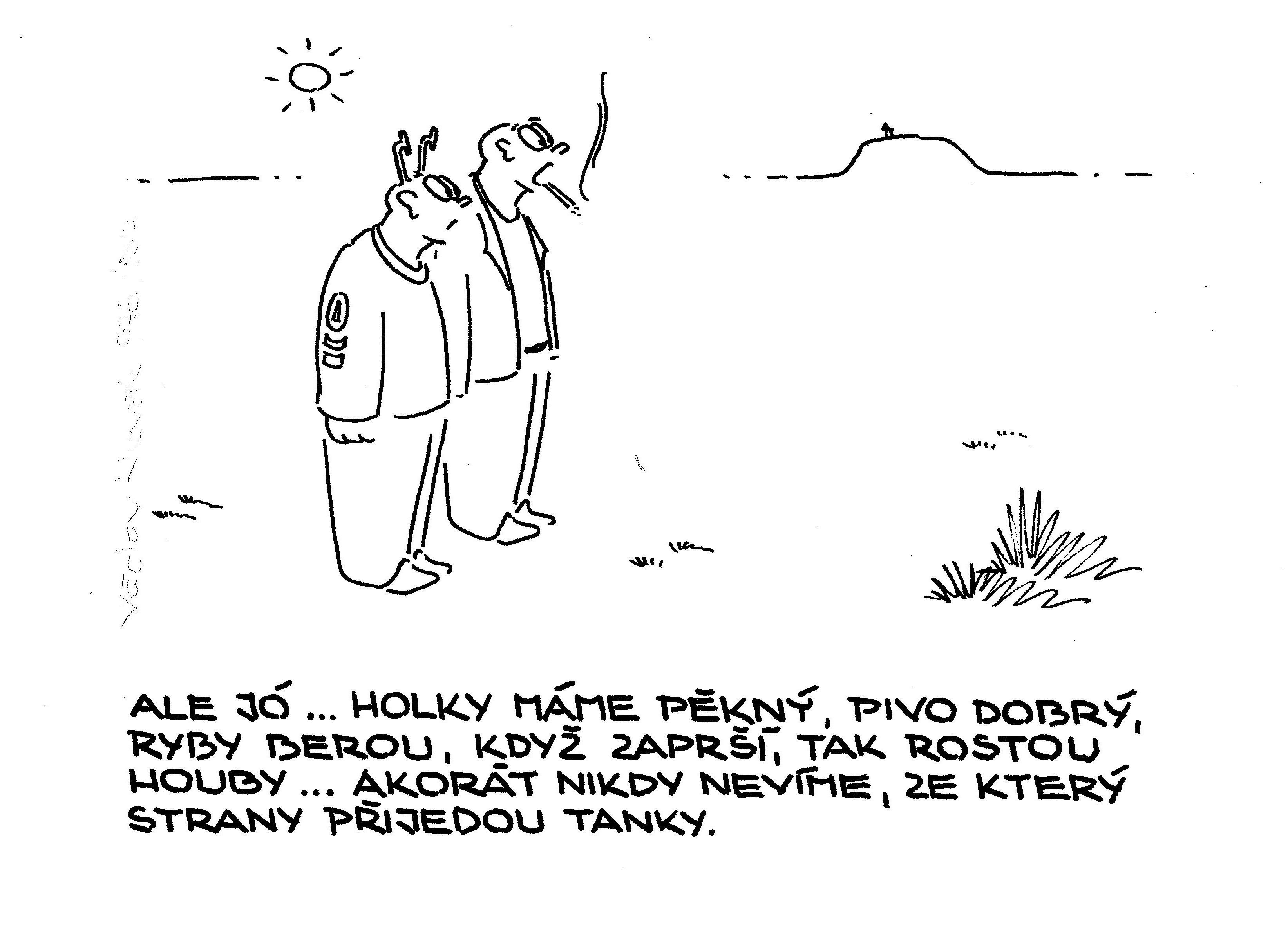Václav Novák kreslený humor vtipy sranda