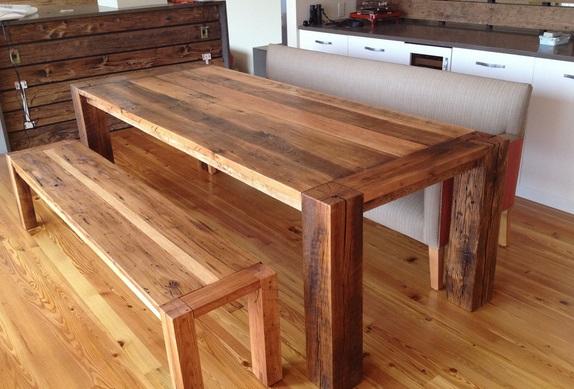 Jak vyrobit dřevěný stůl