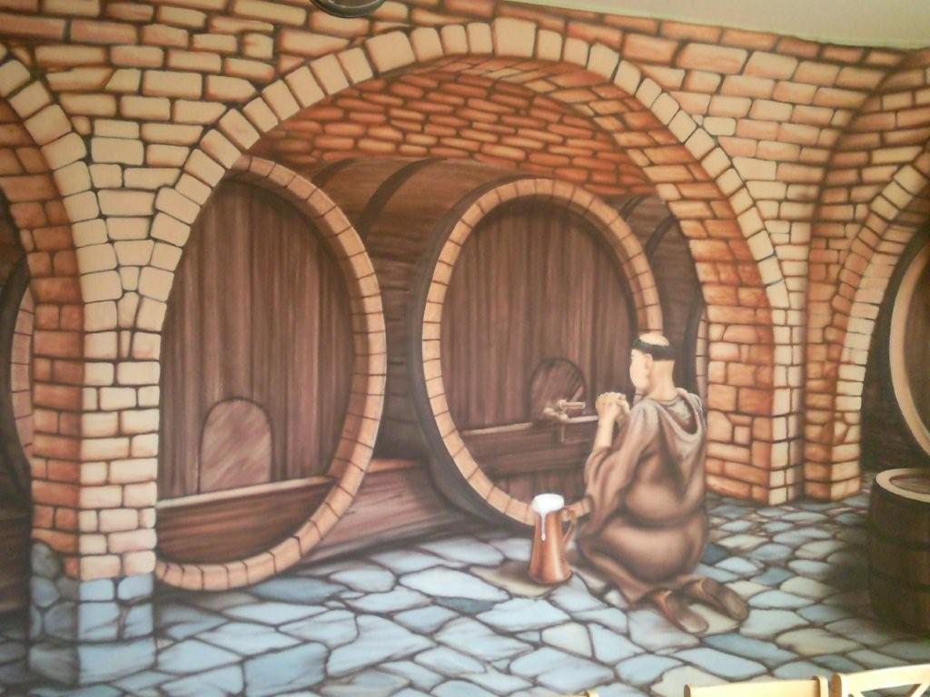 interiér pivovaru