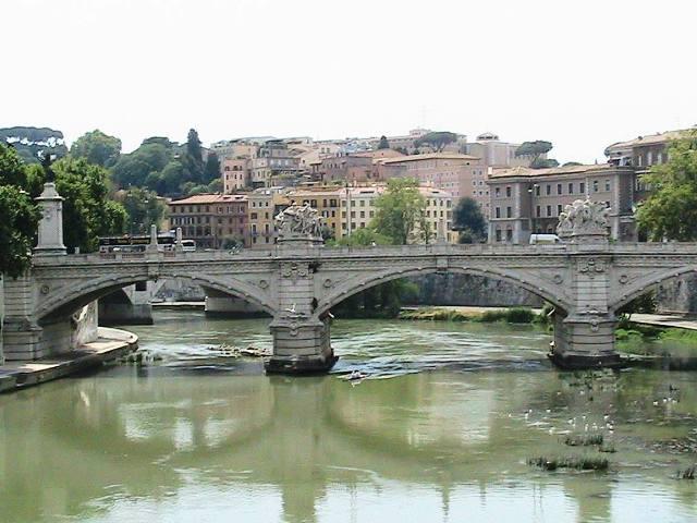 pohled na Tiberu