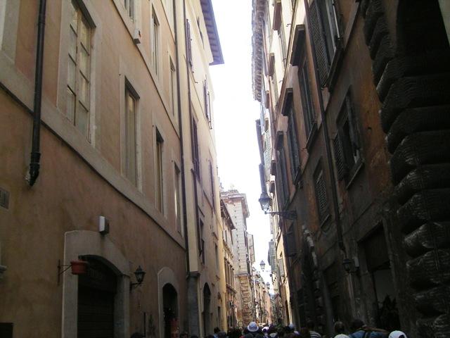 V uličkách Říma...