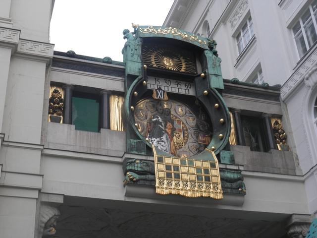 Orloj ve Vídni