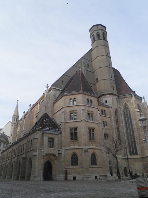 jeden z kostelů ve Vídni