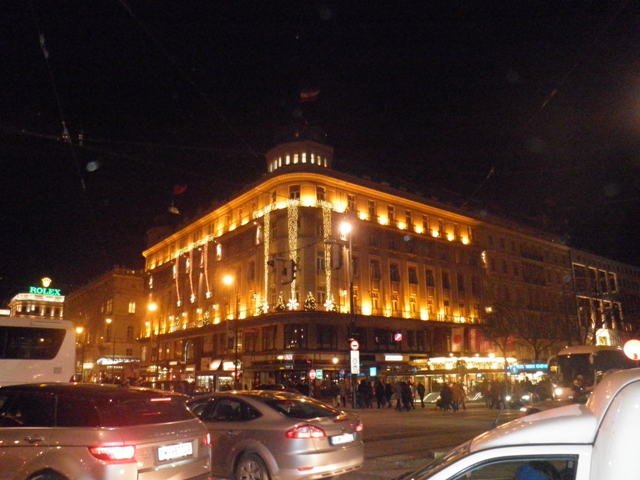 večerní Vídeň