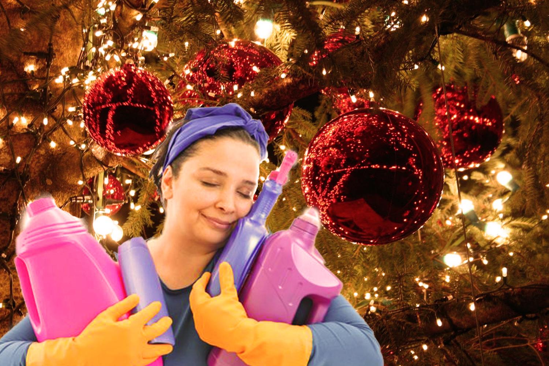 Výsledek obrázku pro vánoční úklid