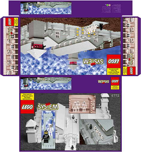 Autorské dílo Zbigniewa Libery, které chtělo LEGO dříve zcenzurovat