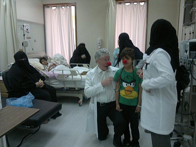 Gary Edwards v Saudské Arábii