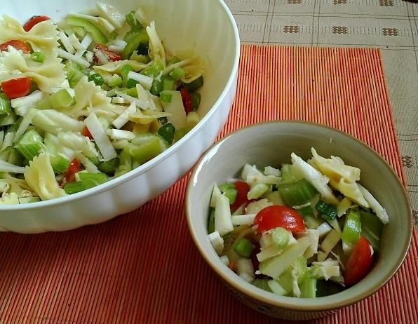 celerový salát, foto H. Borovská