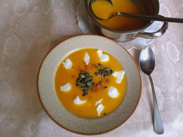 Polévka z hokaida. Foto: H. Borovská