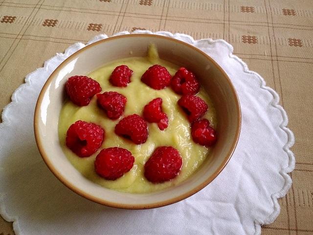 Ananasovo-avokádový krém. Foto: H. Borovská