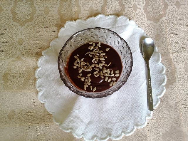 Avokádo-čokoládový krém. Foto: H. Borovská