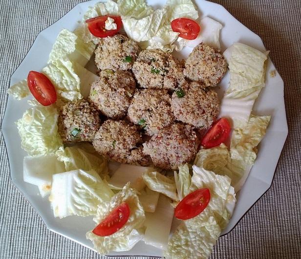 Celerové placičky. Foto: H. Borovská