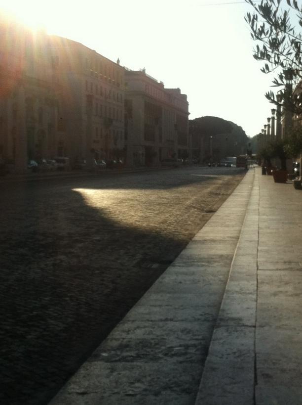 Řím po ránu