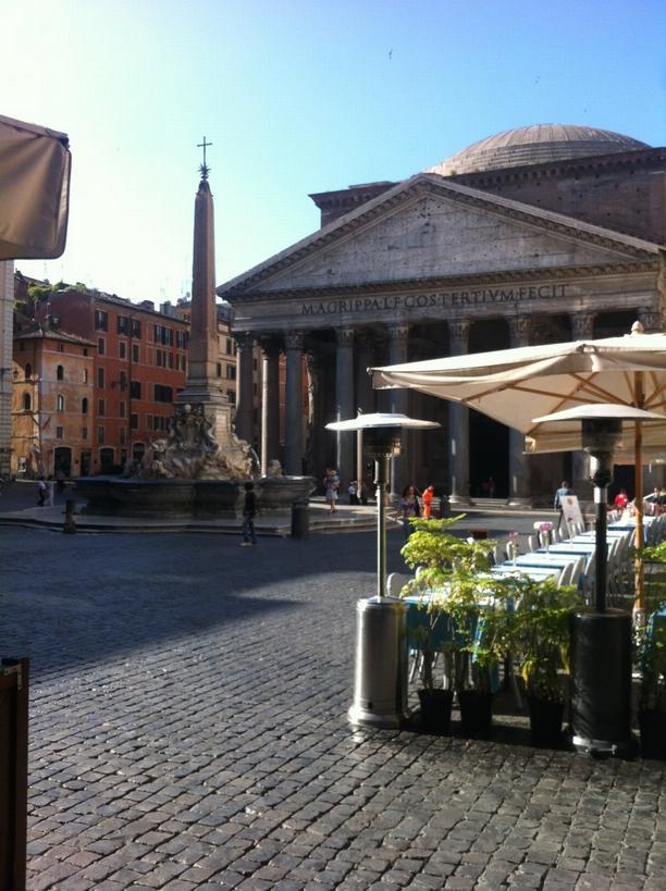 Pantheon po ránu