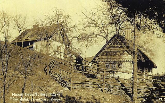 Píčův statek, historická pohlednice