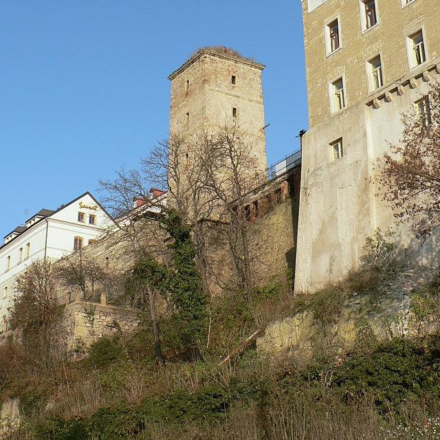 Mladá Boleslav, stará vodárenská věž.