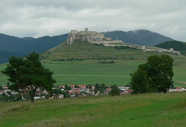 Spišský hrad od západu