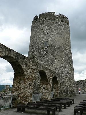 Spišský hrad, bergfrit