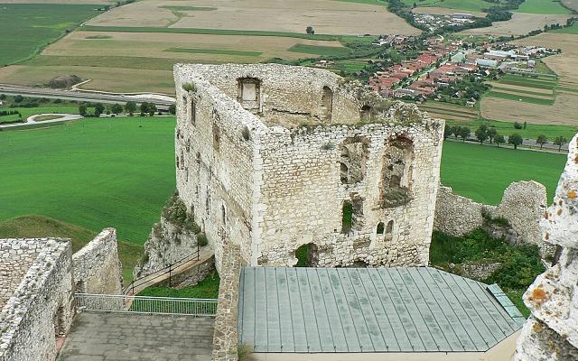 Spišský hrad, románský palác