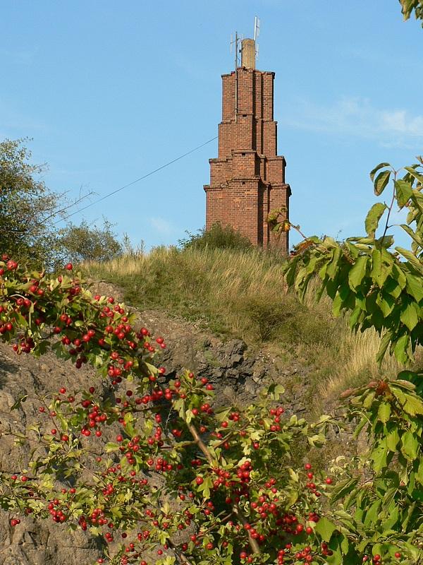 Observační pilíř na Veliši