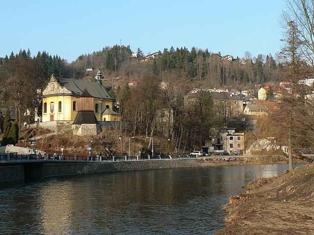 Železným Brodem protéká Jizera