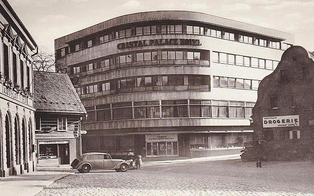hotel Cristal, stará pohlednice