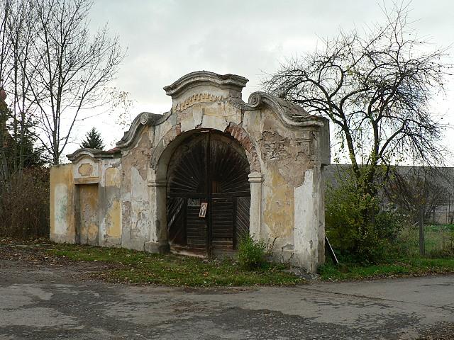 Barokní portál u čp. 28