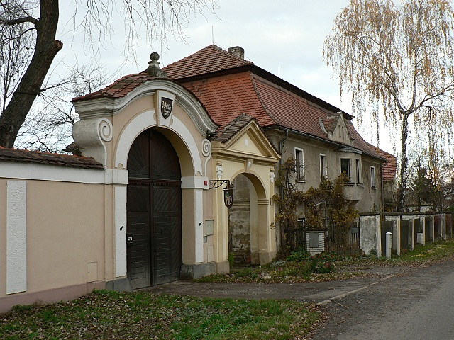 Barokní portál u čp. 1 a 29