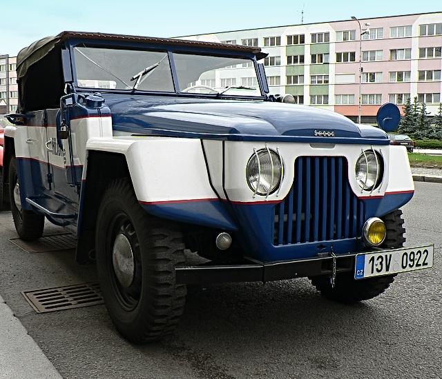 Škoda 1101P, bojový Tudor.