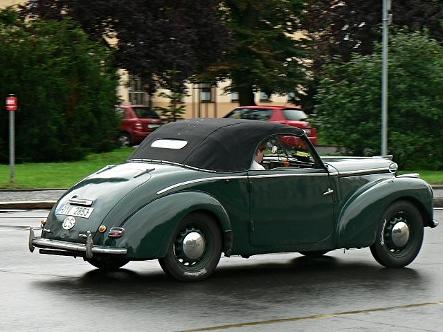 Škoda Tudor, roadster.