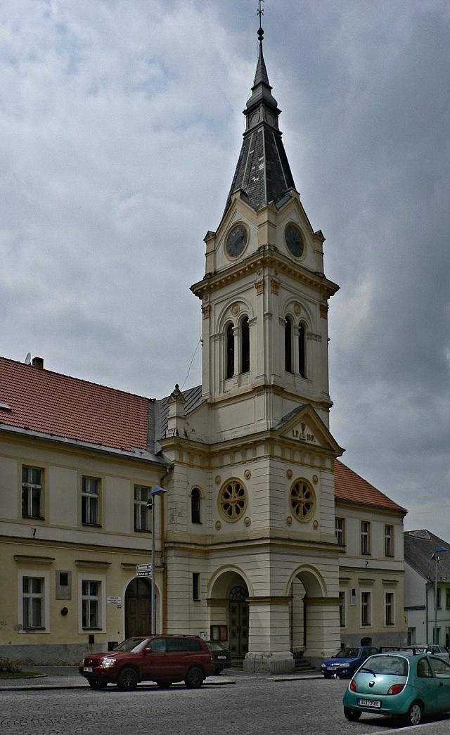 Humpolec, evangelický kostel.